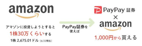 PayPay(ペイペイ)証券なら1000円から株が買える
