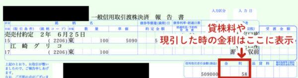 SMBC日興証券のクロス取引の手数料確認方法3