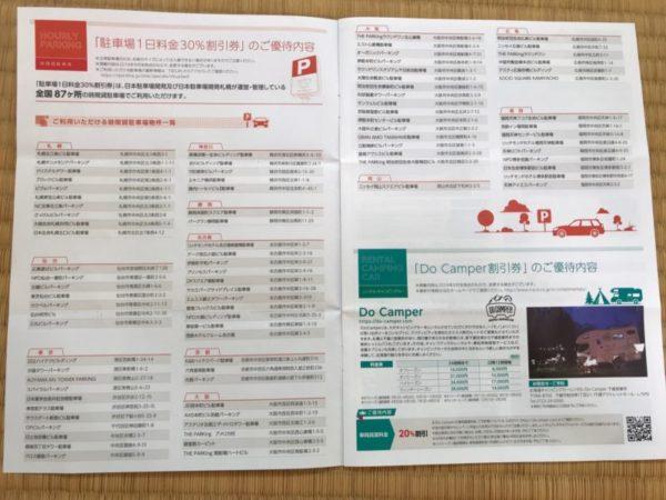 日本駐車場開発の株主優待2