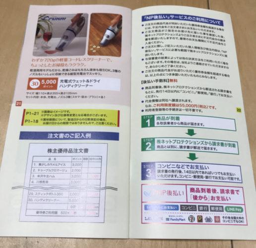 サーラコーポレーションの株主優待カタログ全部載せ11